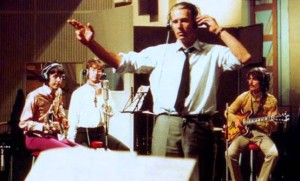 George-Martin-conducting-Beatles