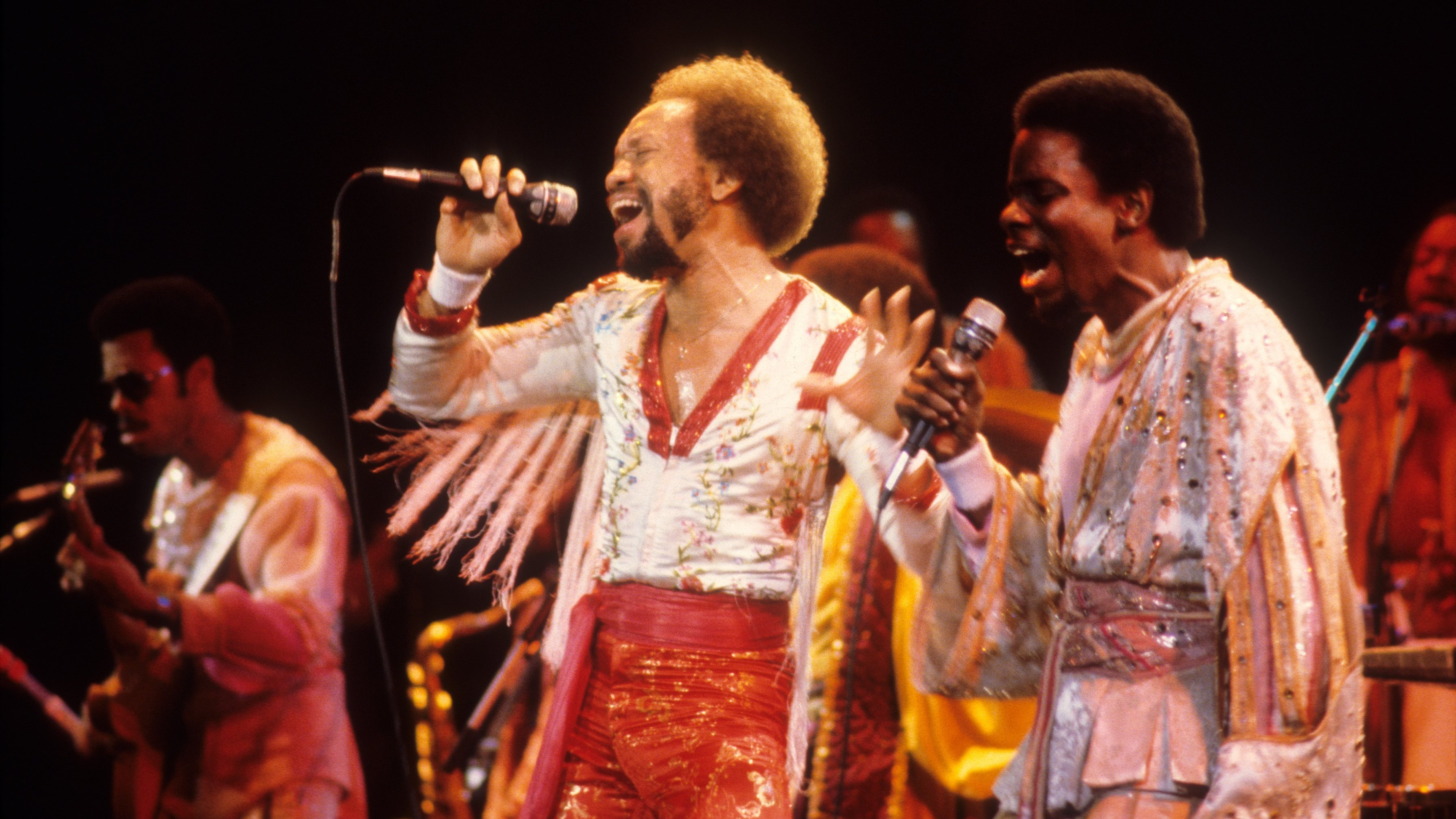 The elements – Earth, Wind & Fire