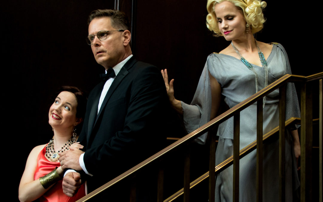 Getting the most from the ghost: Noel Coward's 'Blithe Spirit' at Stageworks