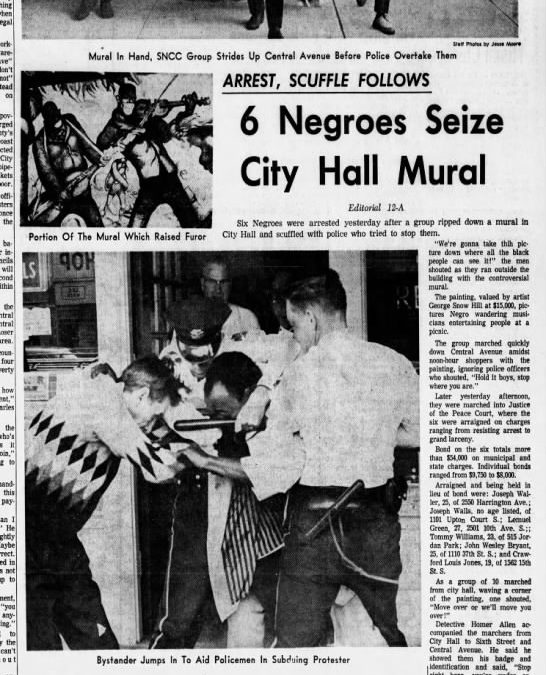 Tales of City Hall: The 'racist mural' controversy