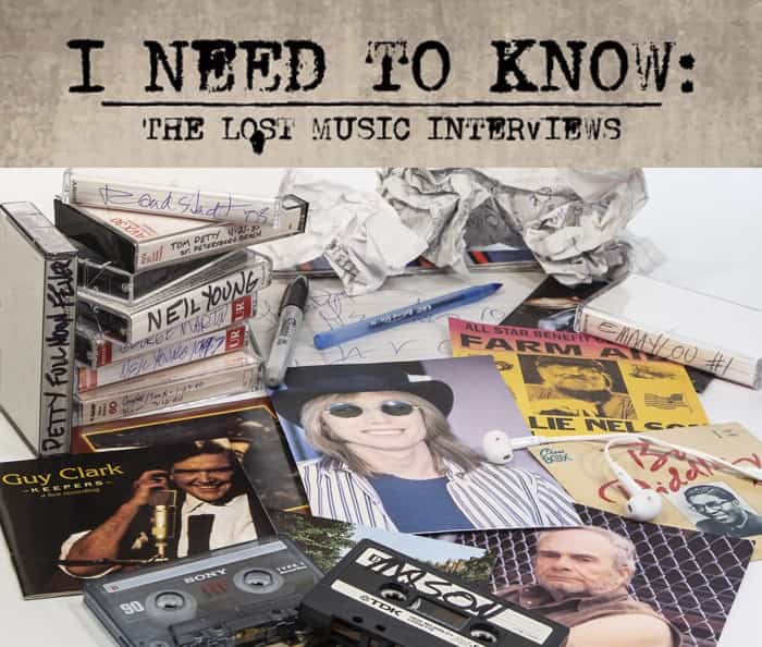 'I Need to Know: The Lost Music Interviews' out now